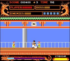 Capture d'écran du jeu Kung Fu Remix