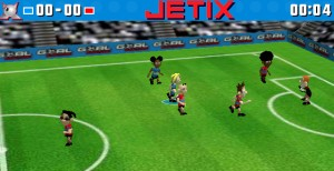 Capture d'écran du jeu Jetix Soccer