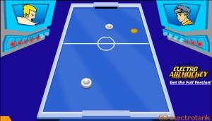 Capture d'écran du jeu Electro Air Hockey