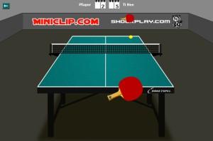Capture d'écran du jeu Table Tennis