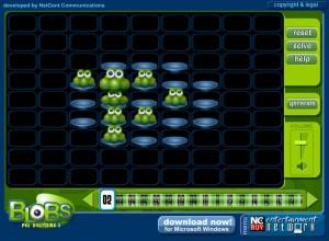 Capture d'écran du jeu Blobs 2