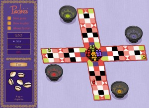 Capture d'écran du jeu Pachisi