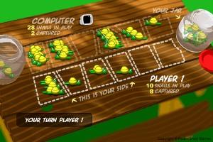 Capture d'écran du jeu Mancala Snails