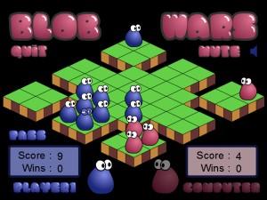 Capture d'écran du jeu Blob Wars