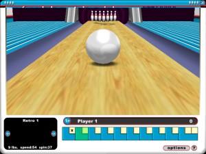 Capture d'écran du jeu Gutterball 3d