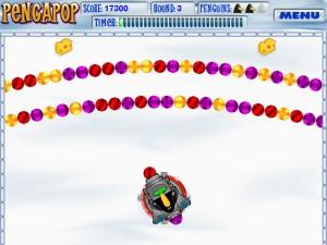 Capture d'écran du jeu Pengapop