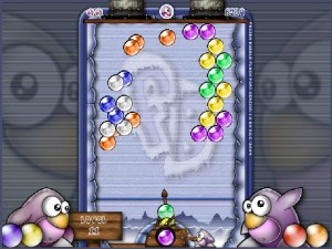 Capture d'écran du jeu Frozen Bubble