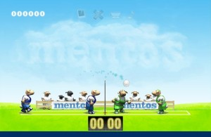 Capture d'écran du jeu Mentos Sheep Volley