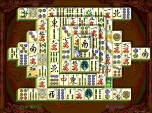 Capture d'écran du jeu Shanghai Dynasty