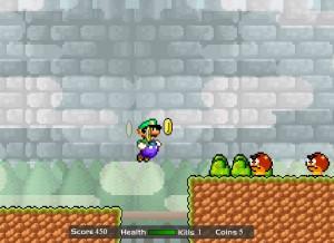 Capture d'écran du jeu Luigi's Revenge Interactive