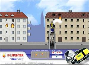 Capture d'écran du jeu Drager Safety : Firefighter