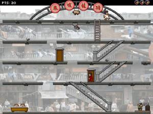 Capture d'écran du jeu Pigsty Panic!