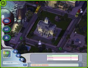 Capture d'écran du jeu Panique A Simcity !