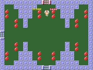 Capture d'écran du jeu O-daiba Bomb Jack