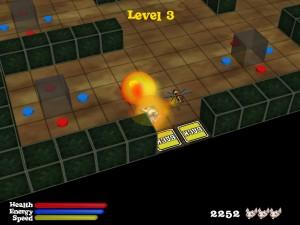 Capture d'écran du jeu Ratinator
