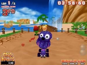 Capture d'écran du jeu Crazy Kart