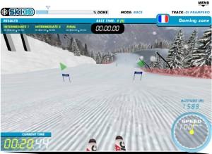 Capture d'écran du jeu Ski 3d
