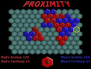 Capture d'écran du jeu Proximity