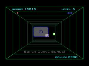Capture d'écran du jeu Curveball