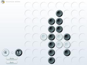 Capture d'écran du jeu Truantduck Reversi