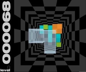 Capture d'écran du jeu 3d Tris
