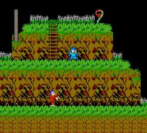 Capture d'écran du jeu Megaman Vs Ghosts'n Goblins