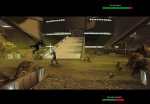 Capture d'écran du jeu Star Wars Episode Xliv