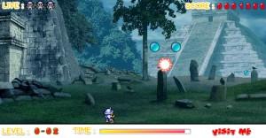 Capture d'écran du jeu Pang Flash