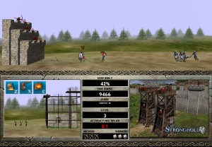 Capture d'écran du jeu Castle Attack 2