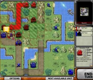 Capture d'écran du jeu Battalion Nemesis