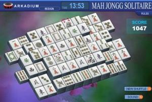 Capture d'écran du jeu Mah Jongg Solitaire