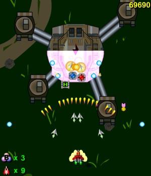 Capture d'écran du jeu Raiden X