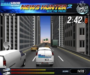 Capture d'écran du jeu News Hunter 2