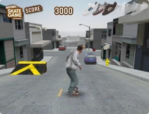 Capture d'écran du jeu Downhill-jam