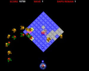 Capture d'écran du jeu Swarm