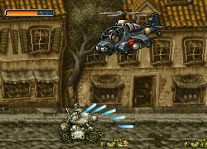 Capture d'écran du jeu Metal Slug Rampage