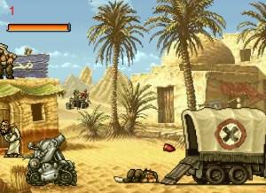 Capture d'écran du jeu Metal Slug Rampage 2