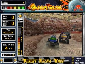 Capture d'écran du jeu Oversize