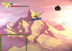 Capture d'écran du jeu Armadillo Knight  : Blizzard Peak