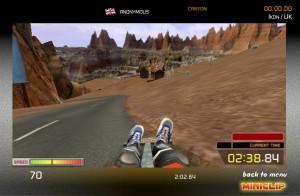 Capture d'écran du jeu Street Luge