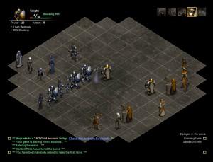 Capture d'écran du jeu Tactics Arena Online