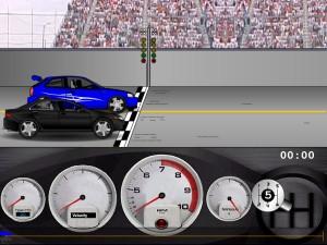 Capture d'écran du jeu Drag Racer V3