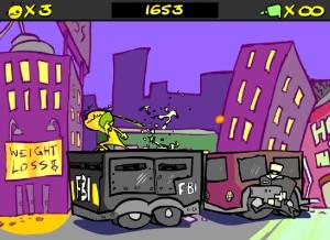 Capture d'écran du jeu Alien Hominid