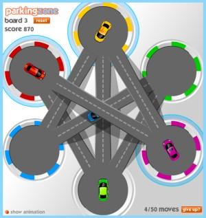 Capture d'écran du jeu Parkingzone