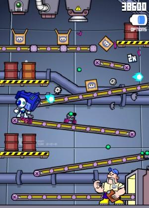 Capture d'écran du jeu Robobug Blaster