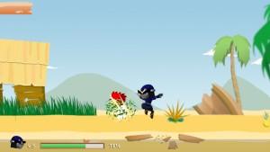 Capture d'écran du jeu Ninjaman