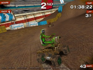 Capture d'écran du jeu Atv Racing