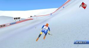 Capture d'écran du jeu Alpine Skier 2006