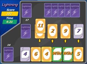 Capture d'écran du jeu Lightning