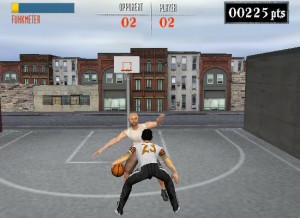 Capture d'écran du jeu Streetball Showdown
